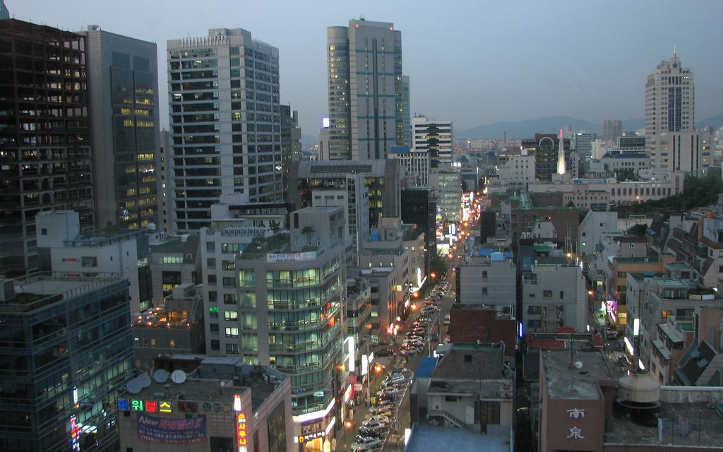 Search for jobs in South Korea