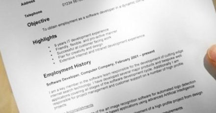 What is a Chronological CV or resume?