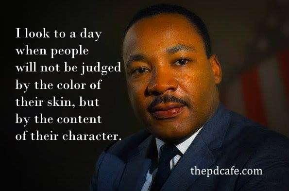 Вдохновляющие цитаты Мартина Лютера Кинга