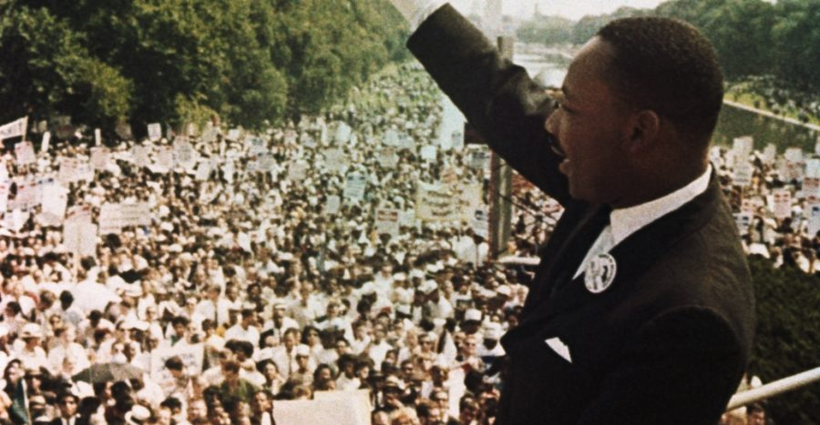 "Martin Luther King Jr March on Washington ..""I have a dream"""