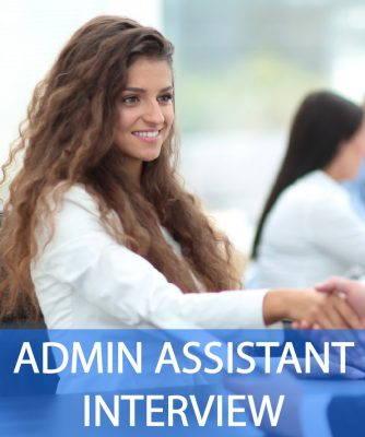 Admin Assistant CV