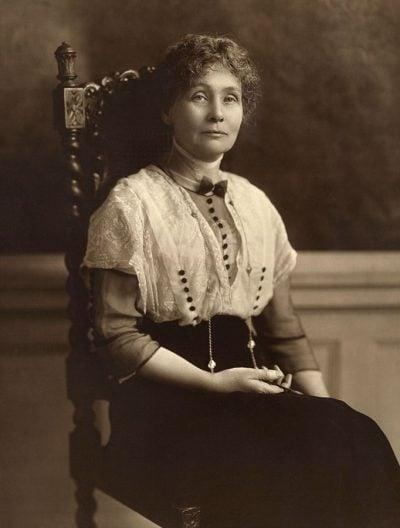 influential-women-emmeline-pankhurst