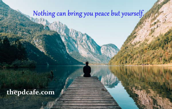 dale carnegie quotes nothing can bring you peace but yourself