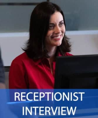 great receptionist interview questions and answers