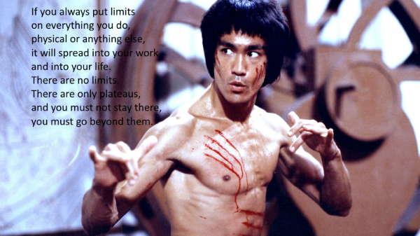 Bruce Lee self improvement quotes