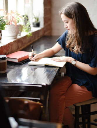 use journaling to help relieve stress