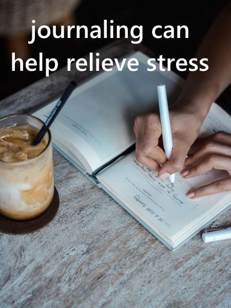 use daily journaling to help relieve stres
