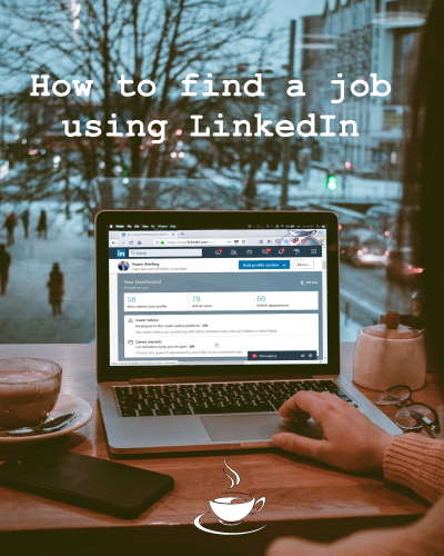 learn how to find a job using LinkedIn