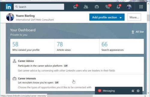 how to use LinkedIn to get a job - create a great LinkedIn profile