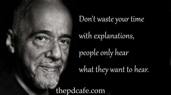 प्रेरणादायक पाउलो Coelho उद्धरण
