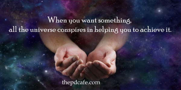 Paul Coelho inspirational quotes on the Law of Attraction