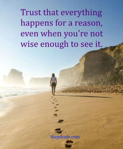 quotes on law of attraction everything happens for a reason