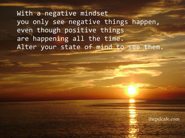 quotes on Law of Attraction negative minsdet