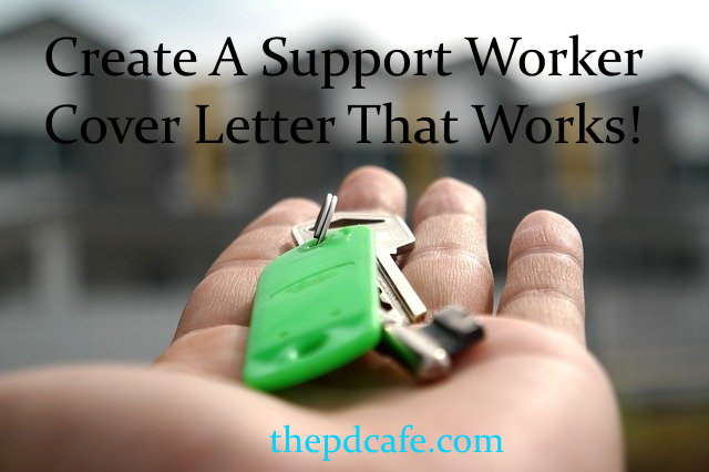 example support worker CV cover letter that works