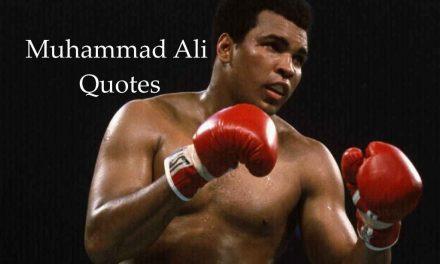 +०+ महान प्रेरणादायक मुहम्मद अली उद्धरण