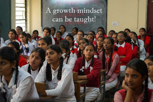 change your mindset to a growth mindset