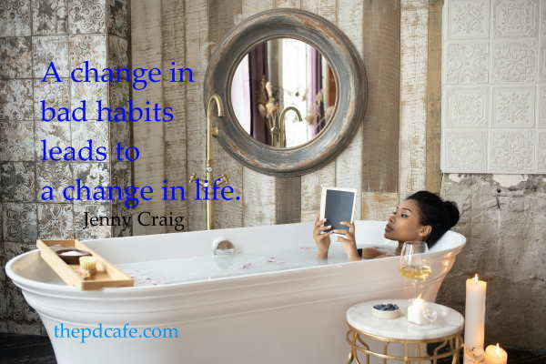 take charge of your habits quote