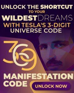 369 manifestation - Nikola Tesla